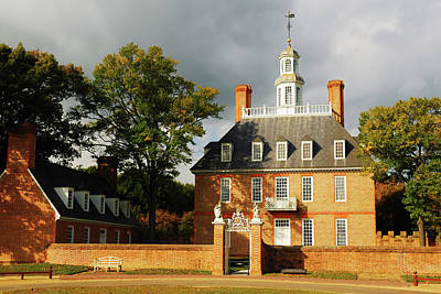 Photograph - Governors Palace by James Kirkikis