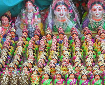 Parvati Photograph - Gowri by Umesh U V