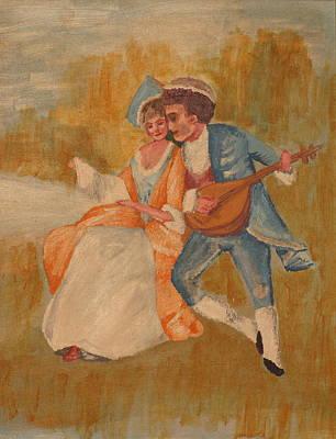 Goya Art Print by Eckland Cort