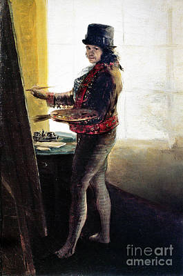 Photograph - Goya: Self-portrait by Granger