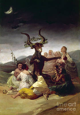 Artflakes Photograph - Goya: Witches Sabbath by Granger