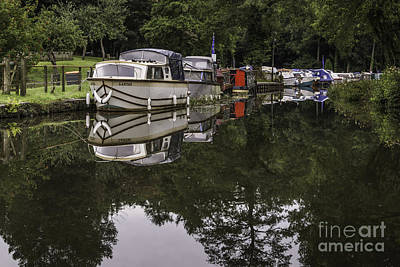 Photograph - Goytre Wharf 1 by Steve Purnell