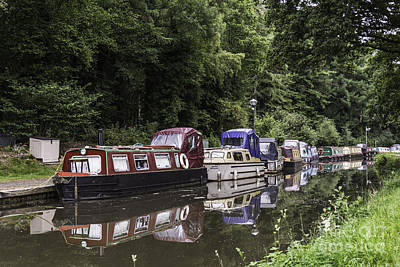 Photograph - Goytre Wharf 2 by Steve Purnell