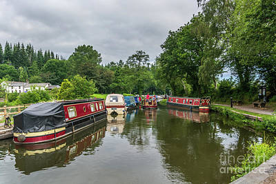 Photograph - Goytre Wharf by Steve Purnell