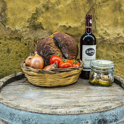 Maltese Photograph - Gozoan Basket  by Rob Hawkins