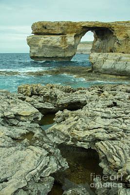 Maltese Photograph - Gozoan Window  by Rob Hawkins