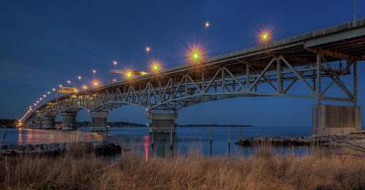 Photograph - G.p. Coleman Bridge by Jerry Gammon