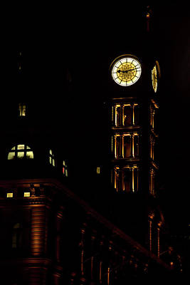 Photograph - Gpo Grand And Famous Clocktower by Miroslava Jurcik