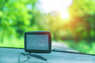Photograph - Gps Navigator by Anna Om