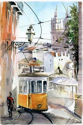Graca Sao Vicente Lisbon Art Print