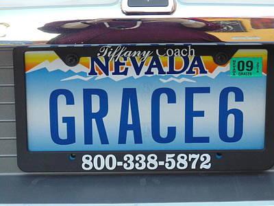 Las Vegas Wedding Photograph - Grace 6 by Dotti Hannum