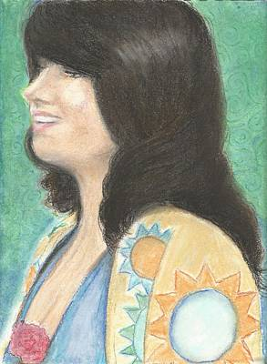 Grace Slick Pastel - Grace And Rose by Jami Cirotti