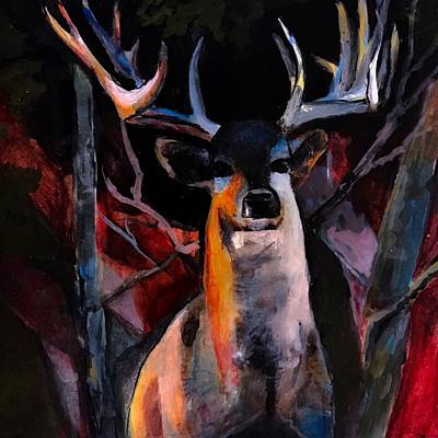 Painting - Grace Beauty And Wildness by Michele Carter