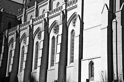 Grace Cathedral Art Print by Larry Butterworth
