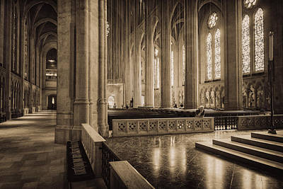 B Photograph - Grace Cathedral No. 3 - San Francisco by Michael Evans