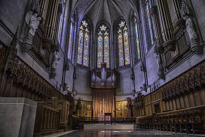 Photograph - Grace Cathedral by Patricia Dennis