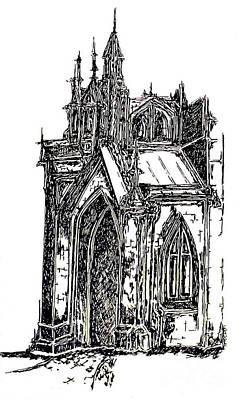 Grace Church New York Original by Pamela Canzano