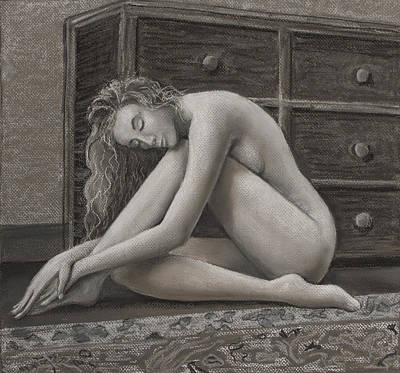 Drawing - Grace by Don Perino