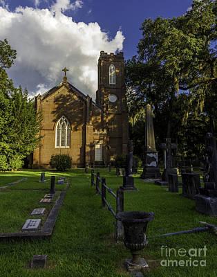 Photograph - Grace Episcopal Church by Ken Frischkorn