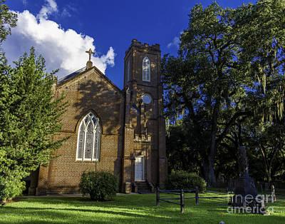Photograph - Grace Episcopal Church Two by Ken Frischkorn