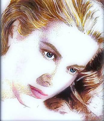 Grace Kelly Mixed Media - Grace II by Wbk