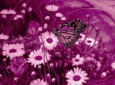 Designers Choice Digital Art - Grace In Pink by Katreen Queen