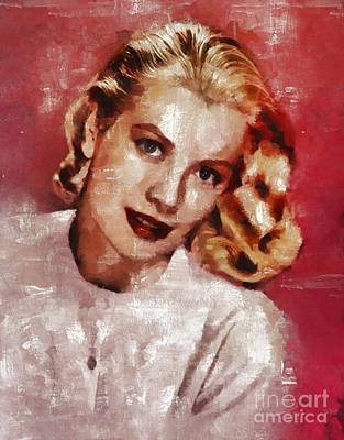 Actors Royalty-Free and Rights-Managed Images - Grace Kelly, Actress and Princess by Mary Bassett