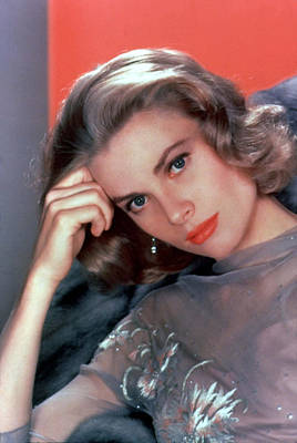 Kelly Photograph - Grace Kelly by American School