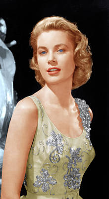 Grace Kelly, Ca. 1955 Art Print