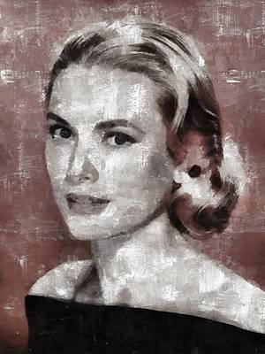 Celebrities Royalty-Free and Rights-Managed Images - Grace Kelly by Esoterica Art Agency