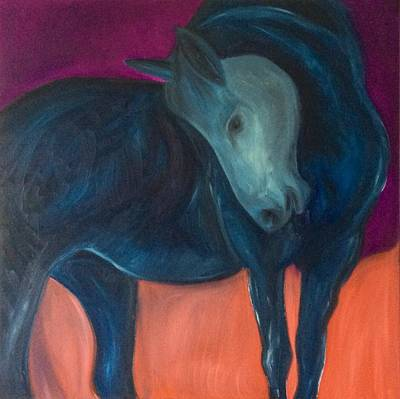 Whimsical Painting - Grace by Mary Papageorgiou