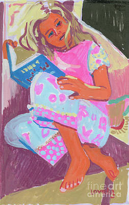 Painting - Grace Reading by Candace Lovely