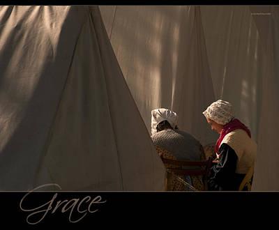 Ron Jones Photograph - Grace by Ron Jones