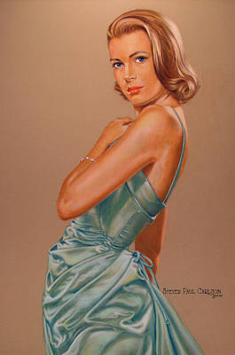 Grace Kelly Painting - Grace by Steven Paul Carlson