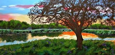 Wall Art - Pastel - Grace Sunrise by Laura Gabel