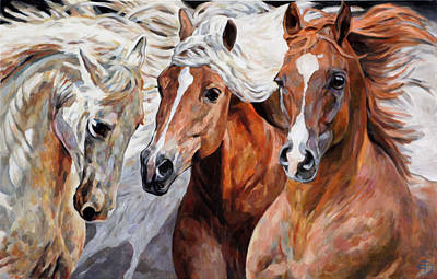 Painting - Grace Trust And Power by Jana Fox