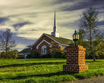 Photograph - Grace United Methodist Church by Nick Zelinsky