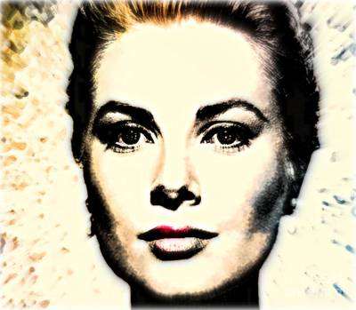 Grace Kelly Mixed Media - Grace by Wbk