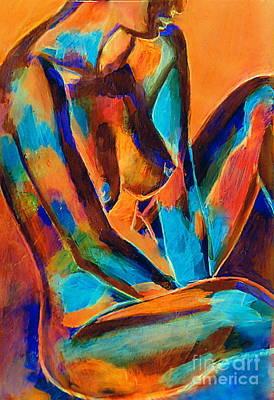 Painting - Graceful Lady by Helena Wierzbicki