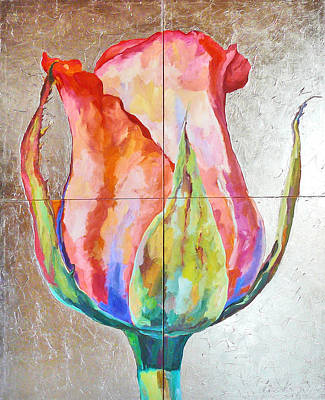 Painting - Graceful Love by Eva Konya