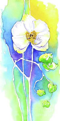 Wall Art - Painting - Graceful Orchid by Svetlana Titarenko