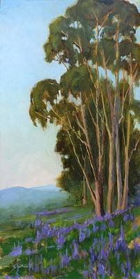 Painting - Graceful Sentinels by Sharon Weaver