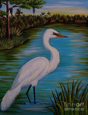 Painting - Gracefully Waiting by Valerie Carpenter