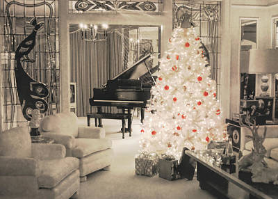 Graceland Holiday Art Print by JAMART Photography