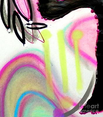 Mixed Media - Gracelyn by L Cecka