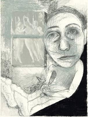 Graces Art Print by Michelle Flanagan
