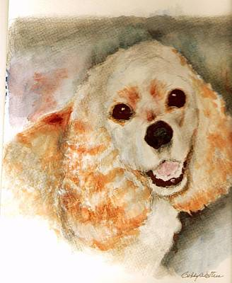 Painting - Gracie by Bobby Walters