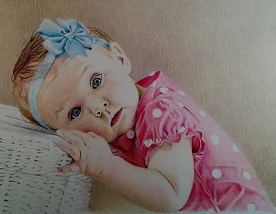 David Hoque Drawing - Gracie by David Hoque