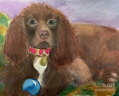 Boykin Spaniel Painting - Gracie by Debra Lampert-Rudman