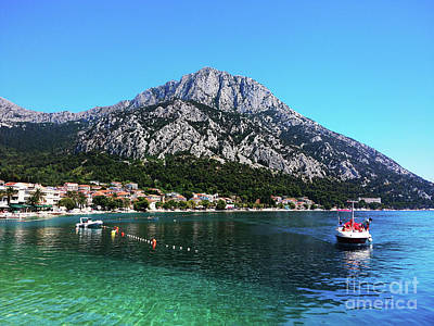 Photograph - Gradac On The Adriatic Sea by Jasna Dragun